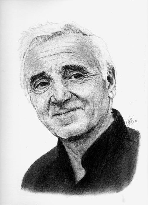 Charles Aznavour par ARitz